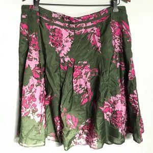 Cleo Fantastic Skirt! Asian Inspired Pattern. SZ16